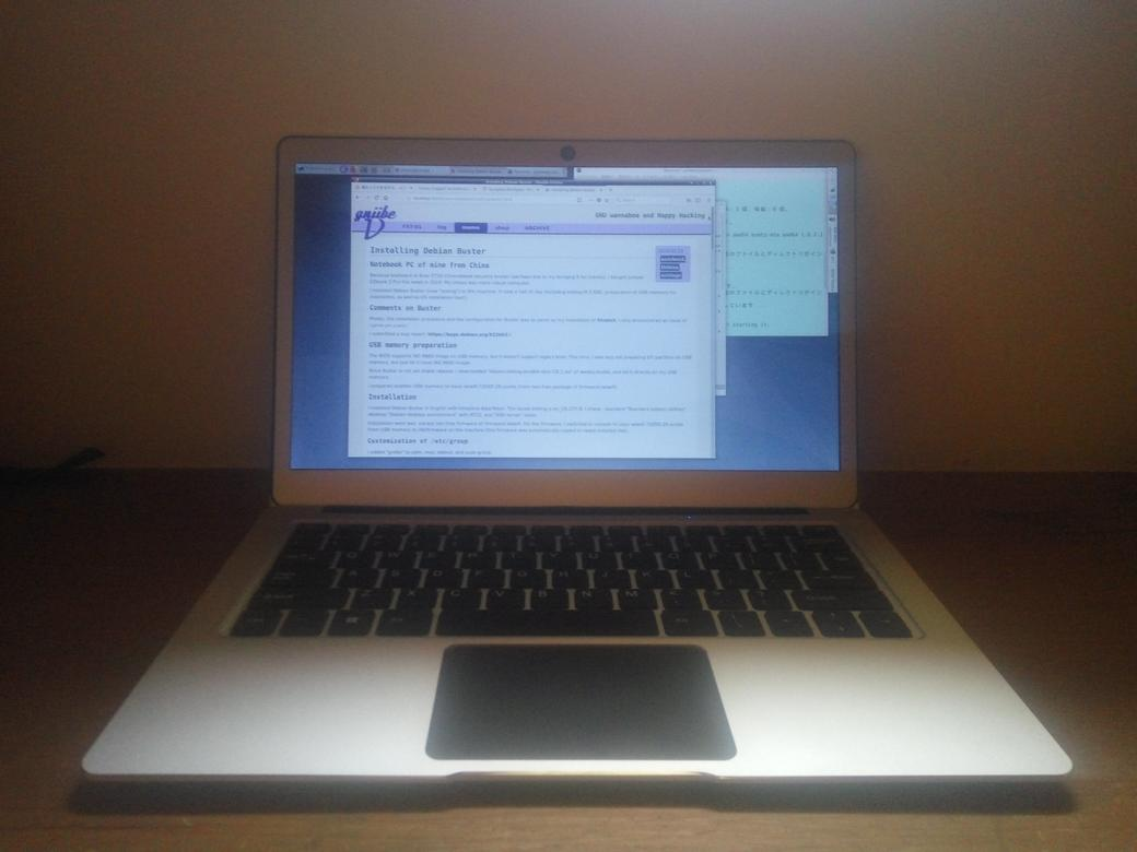 Installing Debian Buster